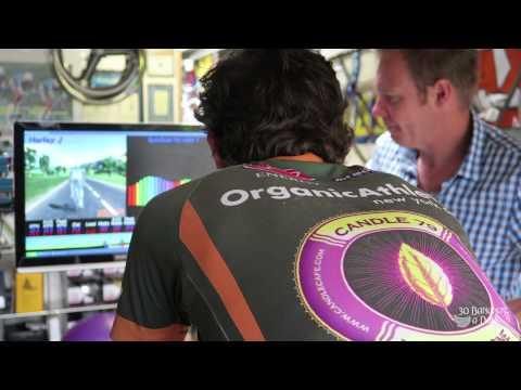 Chris Froome Climbing Tips & Vegan Burgers