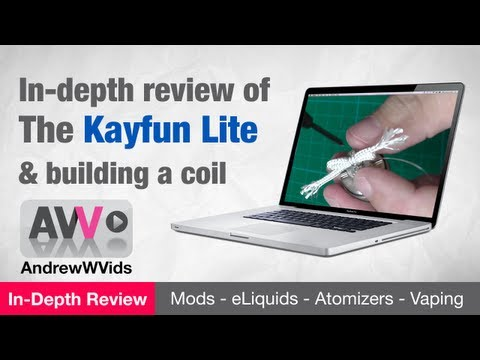 KAYFUN LITE & BUILDING a COIL - REVIEW