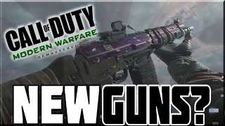 NEW GUNS IN OLD GAME!? - MODERN WARFARE REMASTERED