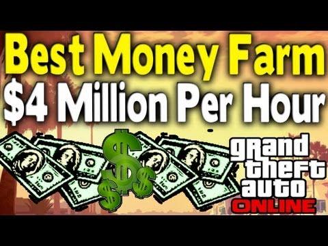 GTA Online BEST MONEY FARM - $4 Million & 700k RP Per Hour [GTA V Multiplayer]