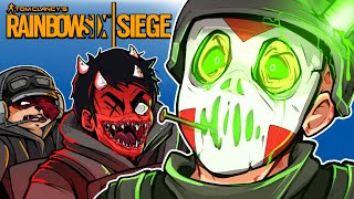Rainbow Six: Siege - MY FAVORITE GAME MODE!!!! (Hide & Seek Funny Moments!)