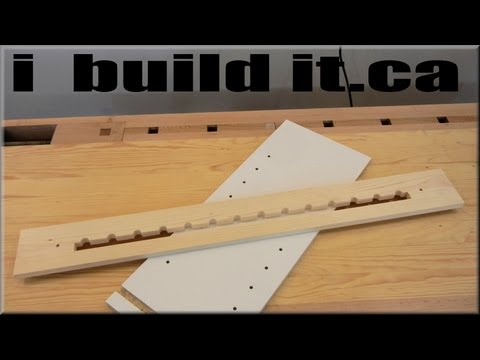 How To Make A Shelf Pin Jig