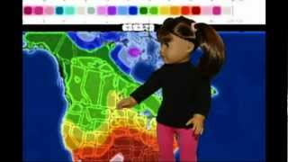 AG NEWS | News Station | American Girl Dolls | Stop Motion | AGSM - So Funny!