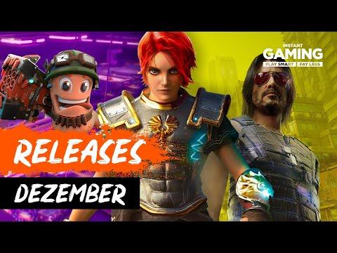 Neue Spiele im Dezember 2020 - PC, PS5, Xbox & Switch