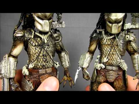 NECA Predator Jungle Hunter 2013 Review and Comparison