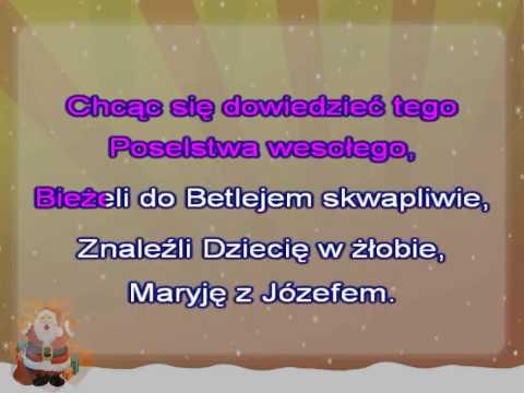 Karaoke Kolęda - Anioł Pasterzom Mówił - Z Linia Meldyczna