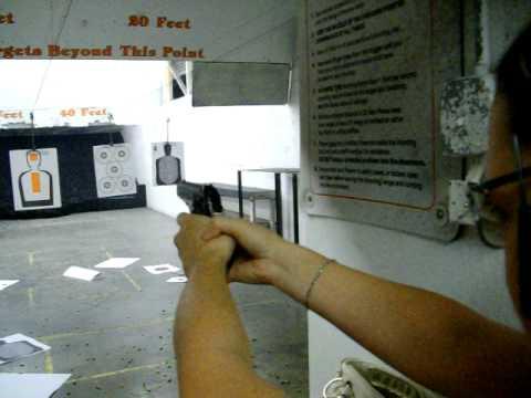 Heather at the Range