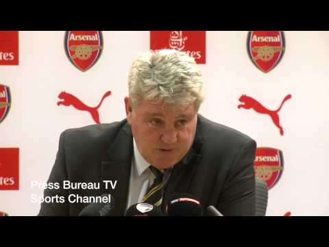 Steve Bruce reaction Arsenal vs Hull FA Cup