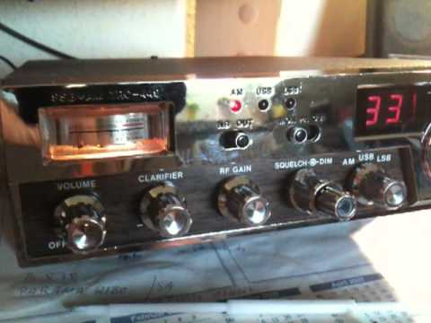 Modified Realistic TRC-449 CB Radio with FM / 120 Channels