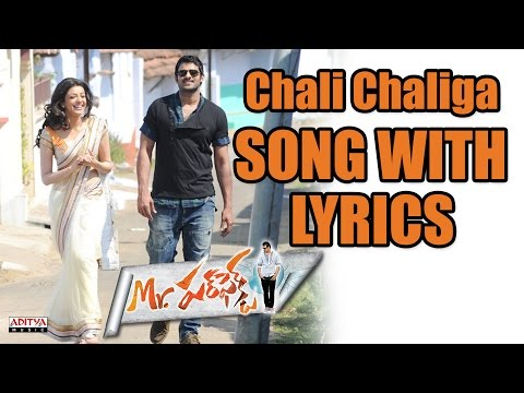 Chali Chaliga Full Song With Lyrics - Mr. Perfect Songs - Prabhas, Kajal Aggarwal, Dsp video