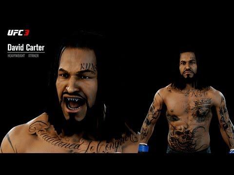 UFC 3 GOAT Career Mode Ep. 1 - HEAVYWEIGHT STRIKER CREATION!