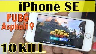 IPHONE SE - Extreme Gaming(PUBG & Asphalt 9)