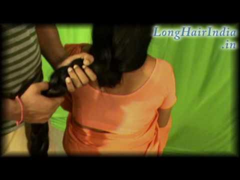 Chabis Knee Length Hair Play By A Man YouTube