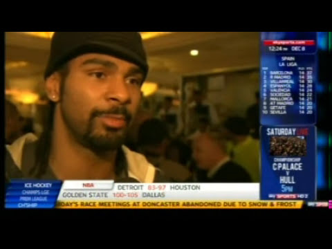 David Haye On Mission Impossible For Chisora