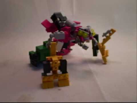 Lego Transformers #22 - ROTF Devastator - PART 2