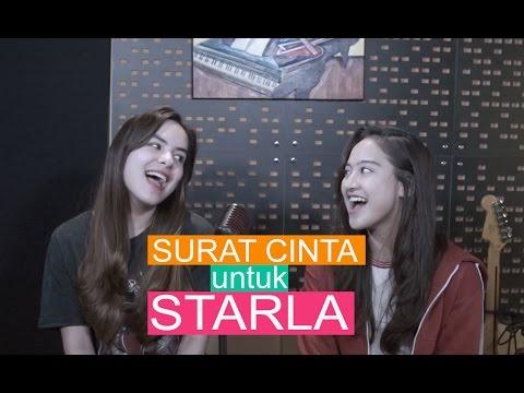 Download Salshabilla Ft Steffi Zamora - Surat Cinta Untuk Starla By Virgoun Mp4 baru