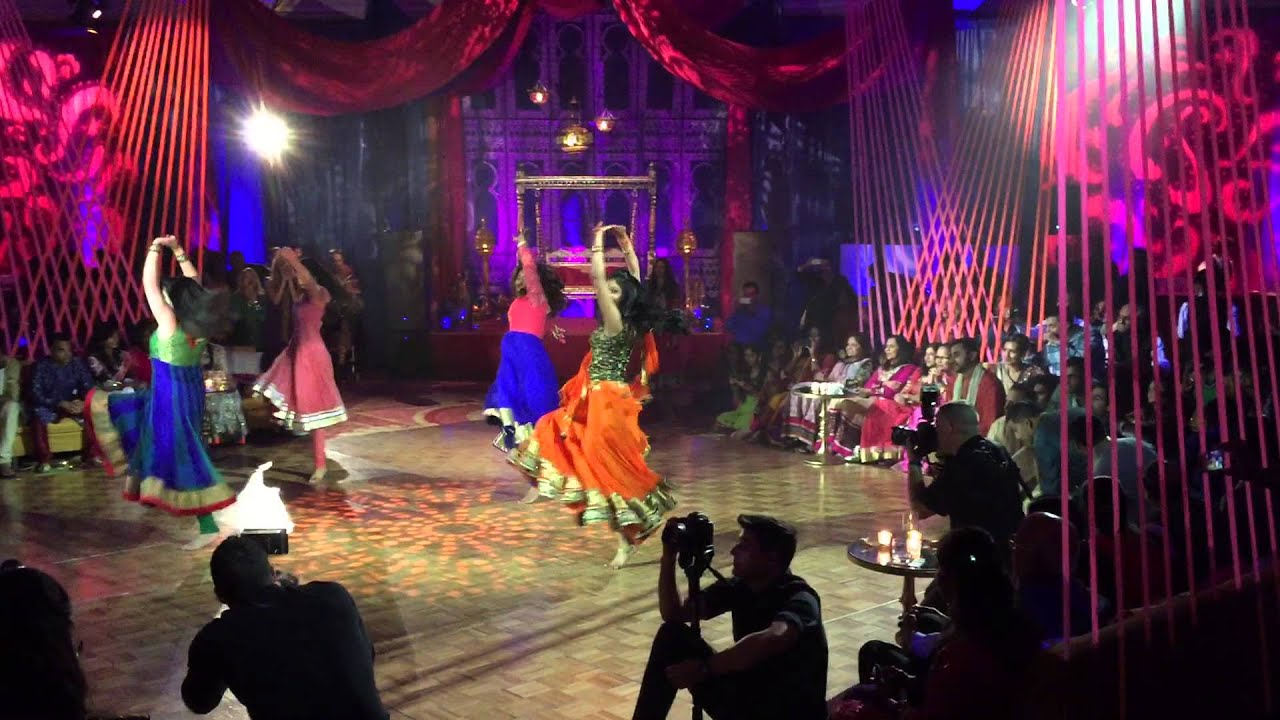 Bridal Party Dance at Shangril and Payal's Sangeet - YouTube