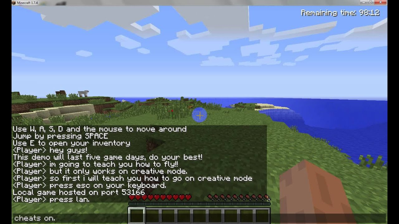 minecraft how to make portals on creative mode