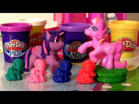 Play-doh My Little Pony Twilight Sparkle Mlp Pinkie Pie How To Make Play Dough Plus Ponies video