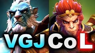 VGJ.STORM vs CoL - CRAZY GAME ALMOST FINAL! - TI8 NA QUALIFIER DOTA 2