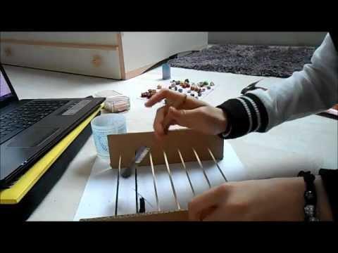 Tuto pr sentoir bijoux youtube - Fabriquer un presentoire a bijoux ...