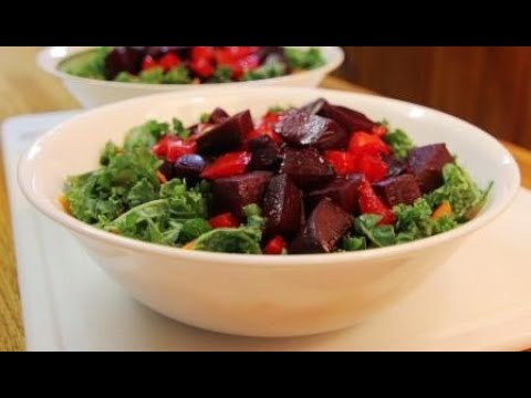 Kale and Beet Super Salad