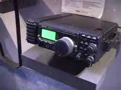 Yaesu FT-897 at Dayton Hamvention 2002