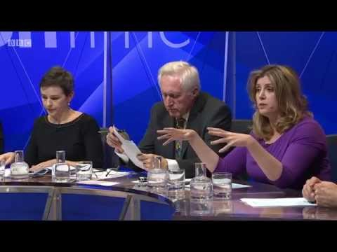 BBC Question Time 11/12/2014 Russell Brand Nigel Farage