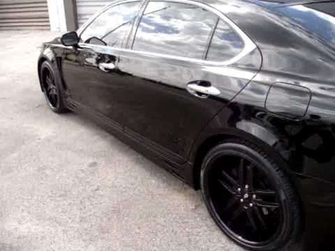 MC Design Whips 2009 Lexus LS460 on 21