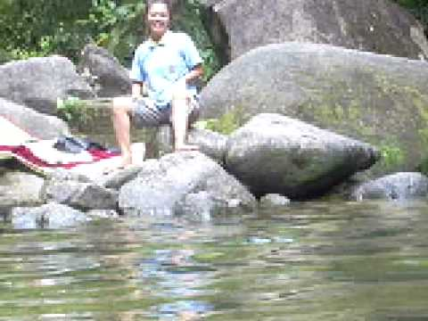 LAMPI WATERFALL THAIMUANG PHANG NGA THAILAND