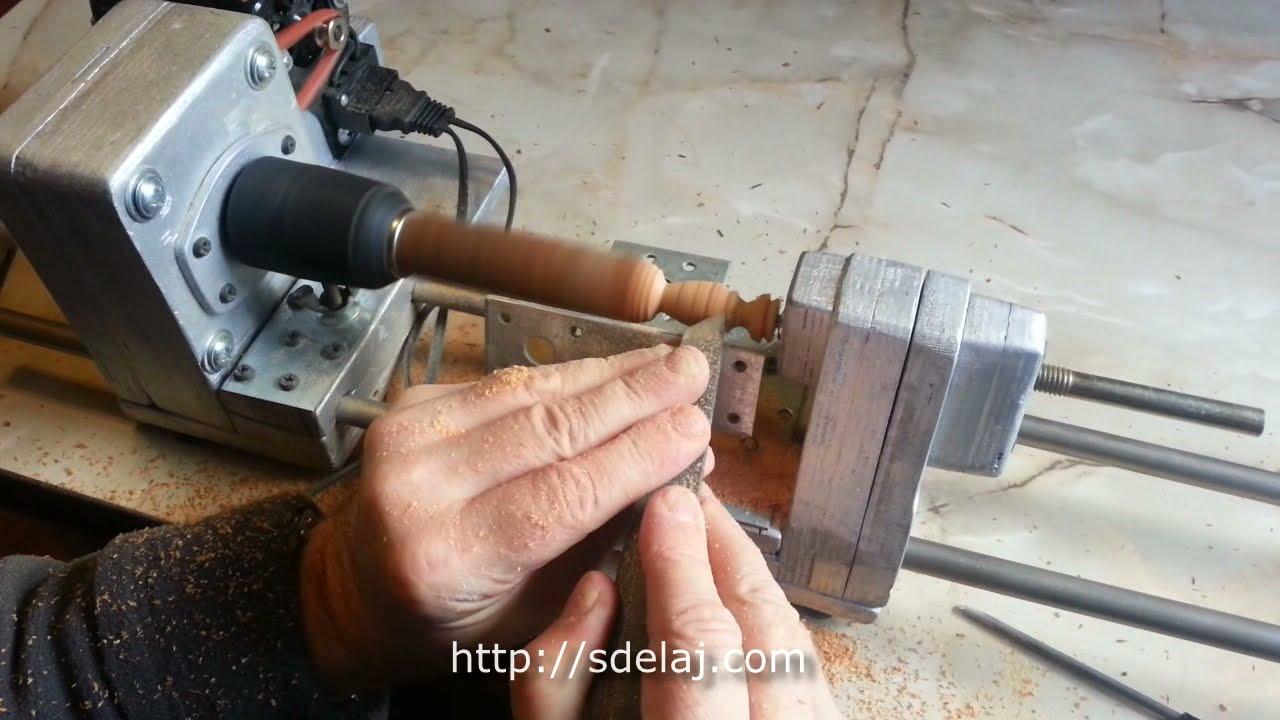 Как сделать маленький токарный 116