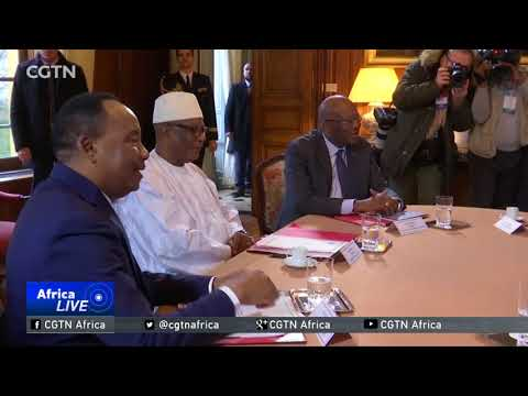 Macron, G5 leaders discuss ongoing efforts against militants