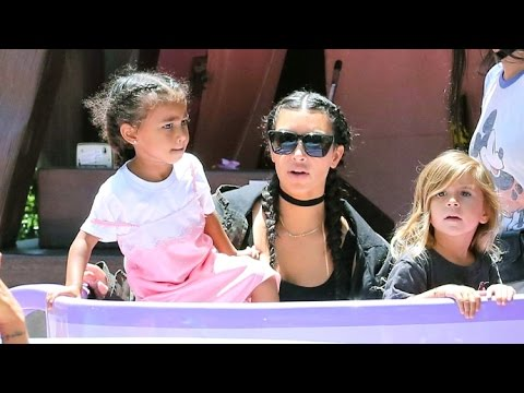 Kim Kardashian And Kanye West Celebrate Nori's Third Birthday At Disneyland
