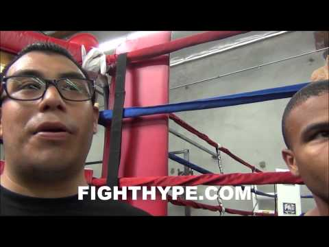 THOMAS DULORME PREDICTS MAIDANA WILL BE MORE DIFFICULT FOR MAYWEATHER IN REMATCH