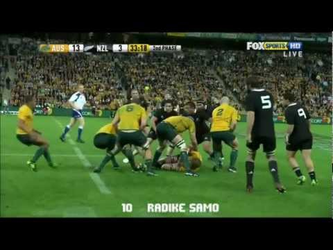 Compilation of Wallabies tries in the 2011 TriNations