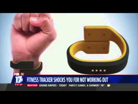 Pavlok wearable fitness tracker