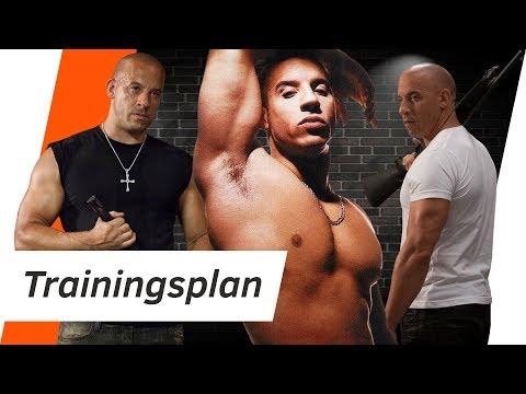 Vin Diesel TRAININGSPLAN - Training und Ernährung | Andiletics