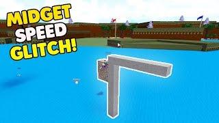 *NEW* MIDGET SPEED GLITCH!?   Build A Boat For Treasure ROBLOX
