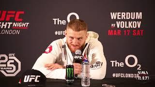 Jan Blachowicz talks decision win over Jimi Manuwa at UFC Fight Night London