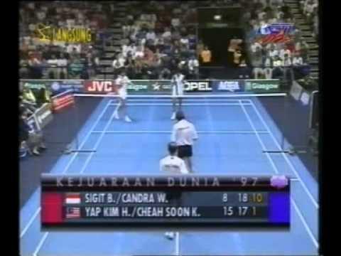 1997 WC MDF Candra Wijaya/Sigit Budiarto [Ina] vs Yap Kim Hock/Cheah Soon Kit [Mas] set3