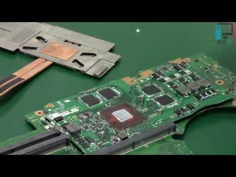 Czyszczenie Laptopa Asus G750JM