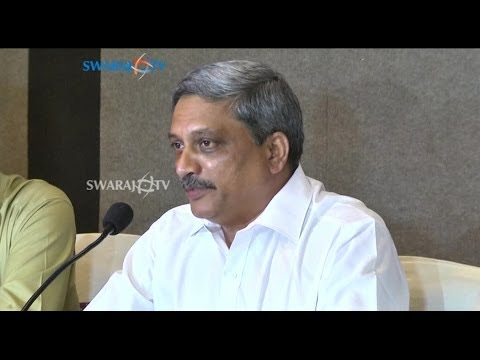 Manohar Parrikar Chief Minister of Goa visit to Hyderabad