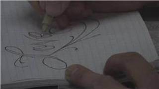 Body Art : How to Make Letter Stencils