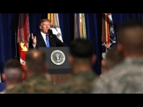 Trump's opportunity to build on his Afghanistan speech success