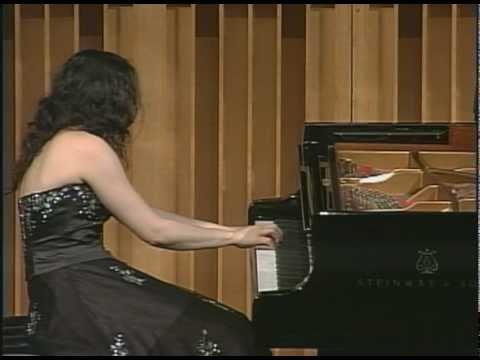 Martina Filjak plays the Fugue from the Beethoven Hammerklavier Sonata