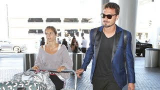 German Soccer Star Mats Hummels And Wife Cathy Leave L.A. Holiday With Tons Of Luggage