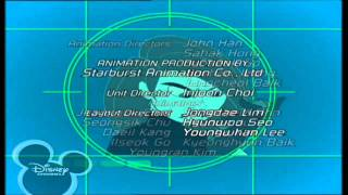 Disney Channel Scandinavia - KIM POSSIBLE - Ending Credits / Outro