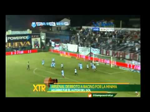 Arsenal 1 Racing 0 - Torneo Clausura 2013