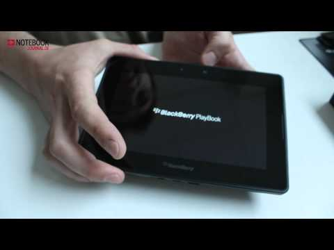 RIM Blackberry Playbook Hands on / Unboxing [german / deutsch]