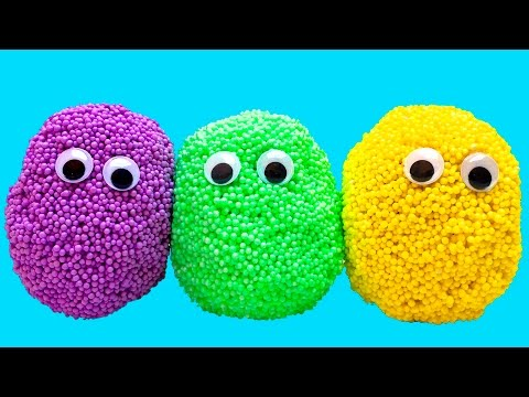 Open Play Foam Surprise Eggs & Discover Awesome Toys Inside